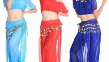Костюмы для восточных танцев маленьким красавицам: особенности пошива, декорирования в домашних условиях