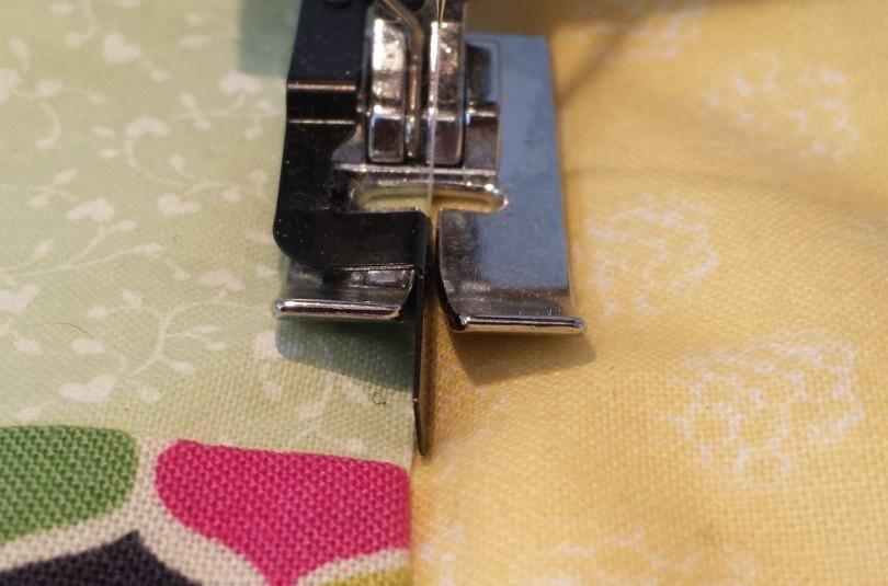 Техника шитья на машинке
