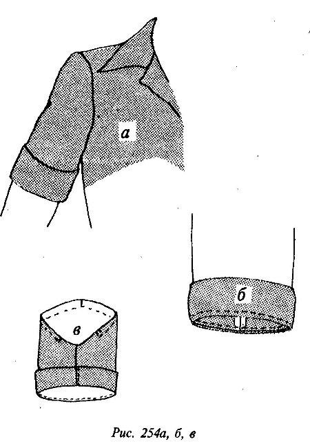 Короткий рукав с манжетой как сделать 75