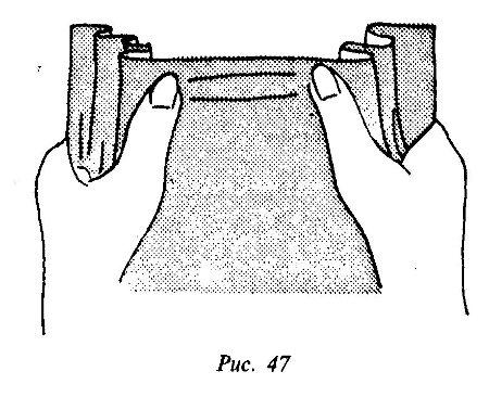 выкройка рулон прочной ткани пустоты